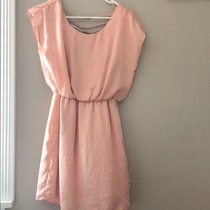 City Triangles Dresses - Pink shirt dress